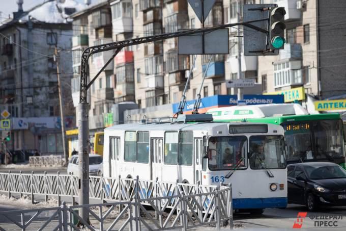 Новый троллейбус в Екатеринбурге