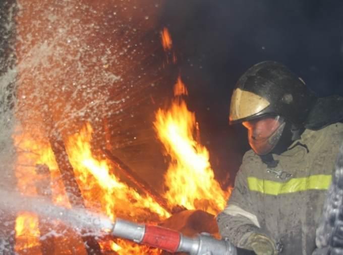 Утром вподвале администрации Кургана произошёл пожар