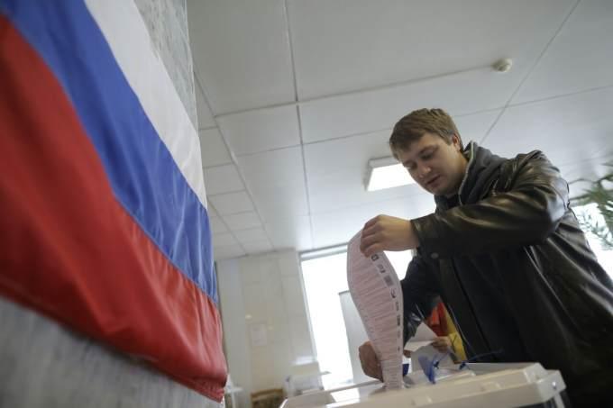 Попредварительным имеющимся данным экзит-пола «Единая Россия» лидирует сбольшим отрывом