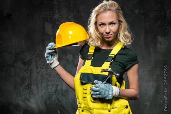 фотографии девушек в строительной униформе рассудительный