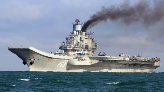 «Адмирала Кузнецова» включили всписок худших авианосцев вмире