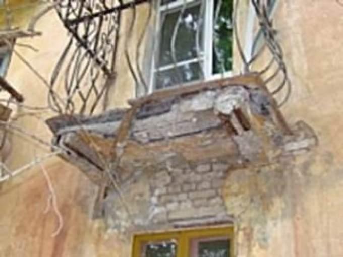 Администрация тюмени: в утешево обрушилось балконное огражде.