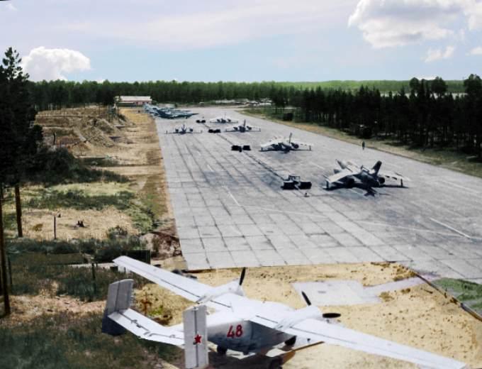 Военный аэродром янао